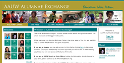 AAUW Alumnae Exchange
