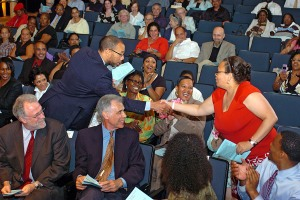 Vivian Nixon of College and Community Fellowship, 2010–11 Community Action Grantee