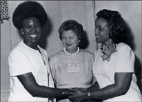 Coretta Scott King AAUW President Anne G. Pannell and Nell painter