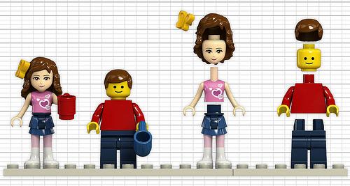 Human Minifigures LEGO Friends Heartlake Vet