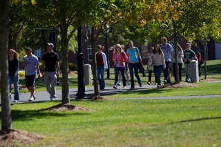 Merrimack College in North Andover, MA on September 23, 2010.