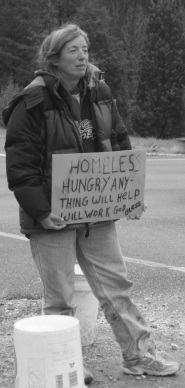 Sally Ayers, a homeless resident in my community, who has told me about the rise in homelessness in Howard County, Maryland