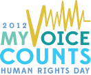 My Voice Counts human rights day
