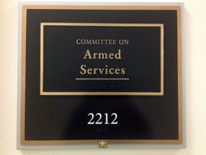 Committee on Armed Services, Room 2212