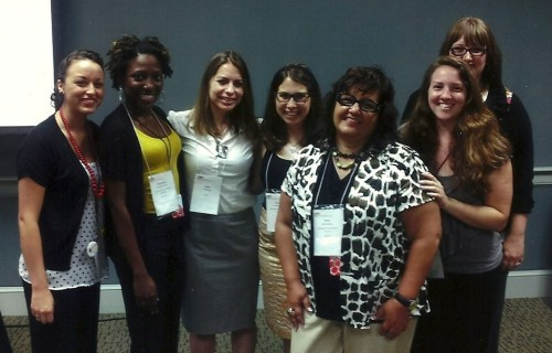 The University of Central Florida mentoring team attended NCCWSL in 2012.