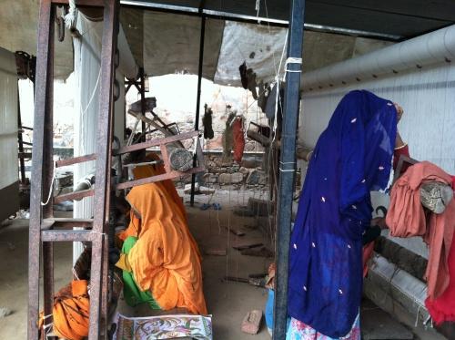 Women weavers in India